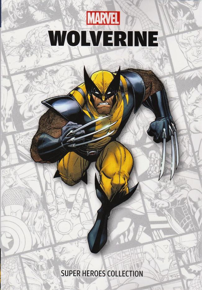 Couverture de Super Heroes Collection -8- Wolverine