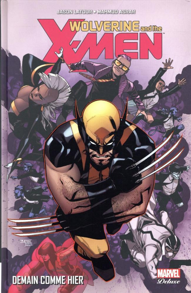Couverture de Wolverine and the X-Men -5- Demain comme hier