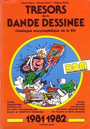 Couverture de (DOC) BDM -3- Trésors de la Bande Dessinée 1981-1982