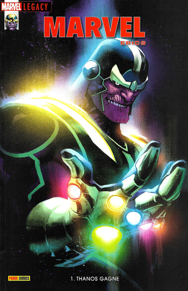 Couverture de Marvel Legacy - Marvel Epics (Marvel France - 2018) -1- Thanos Gagne