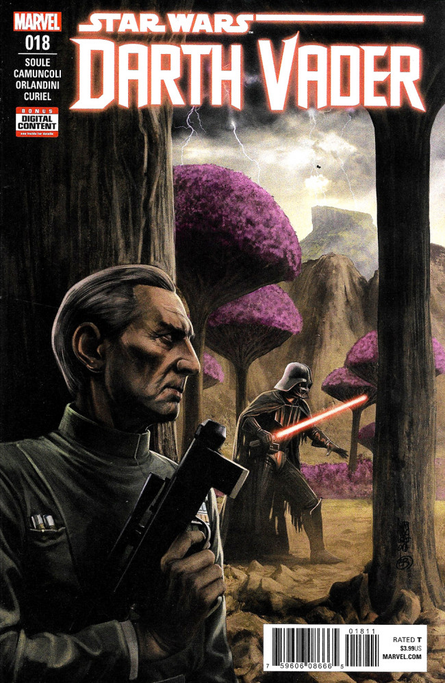 Couverture de Darth Vader (2017) -18- Bad Ground