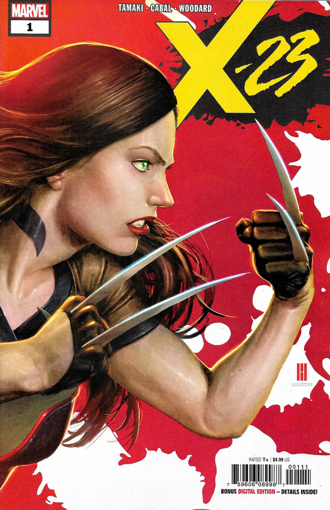Couverture de X-23 (2018) -1- Two Birthdays And Three Funerals