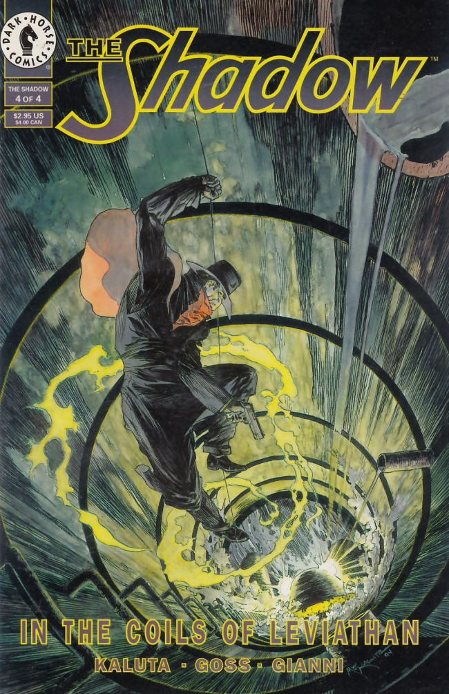 Couverture de Shadow: In the Coils of Leviathan (The) (1993) -4- The Shadow: In the Coils of Leviathan #4