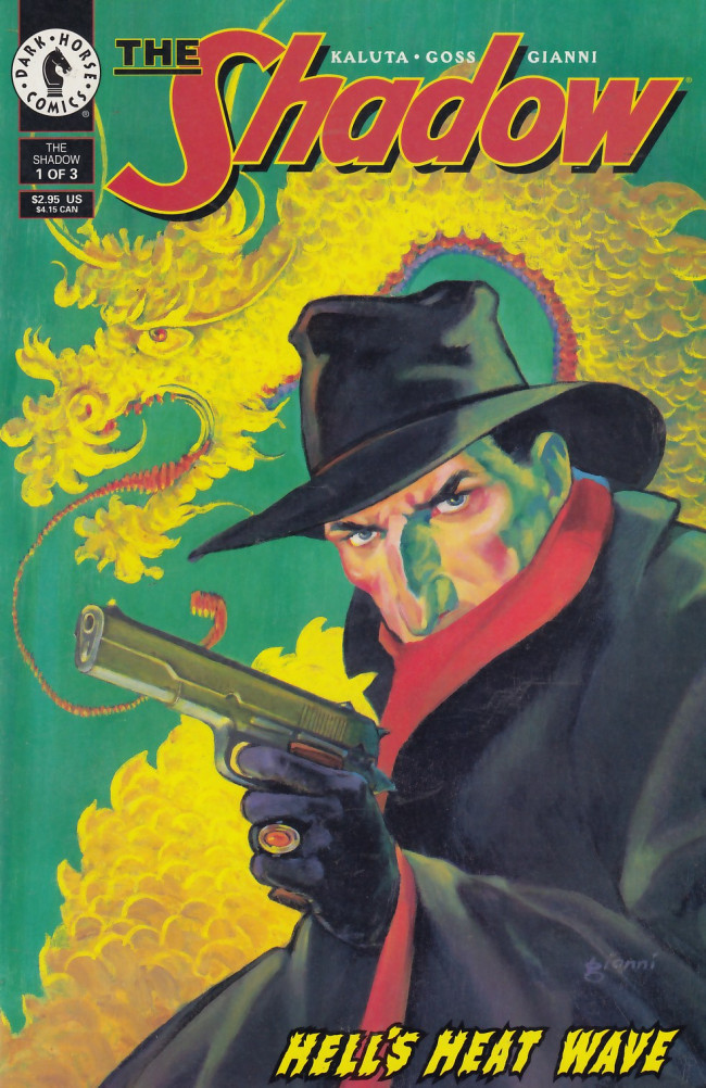 Couverture de Shadow: Hell's Heat Wave (The) (1995) -1- Hell's Heat Wave, part 1