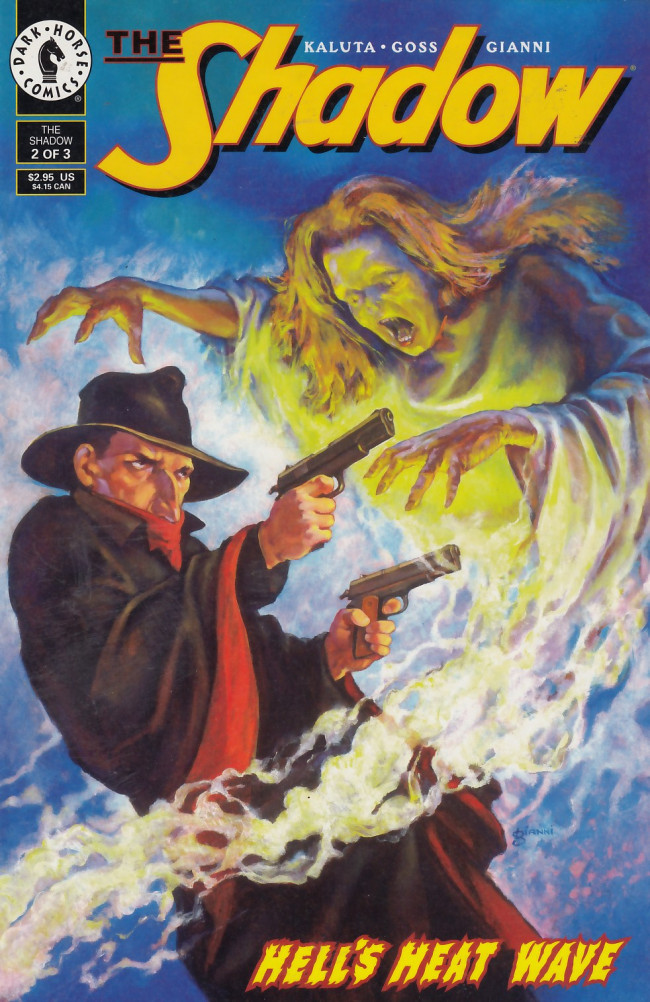 Couverture de Shadow: Hell's Heat Wave (The) (1995) -2- Hell's Heat Wave, part 2