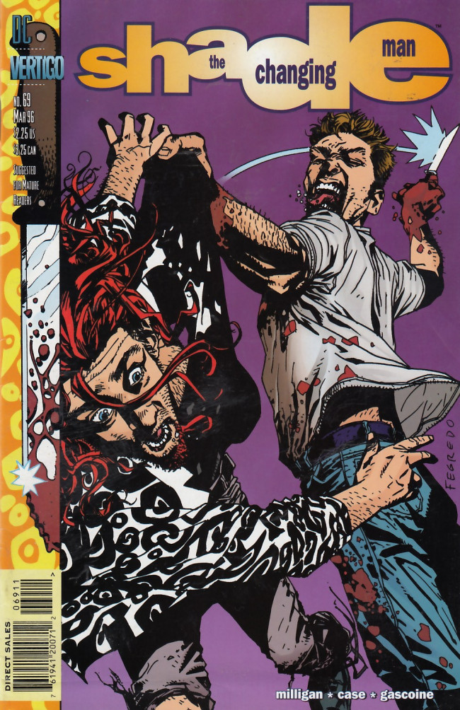Couverture de Shade, the Changing Man (1990) -69- Remember Me (After Kathy Part II)