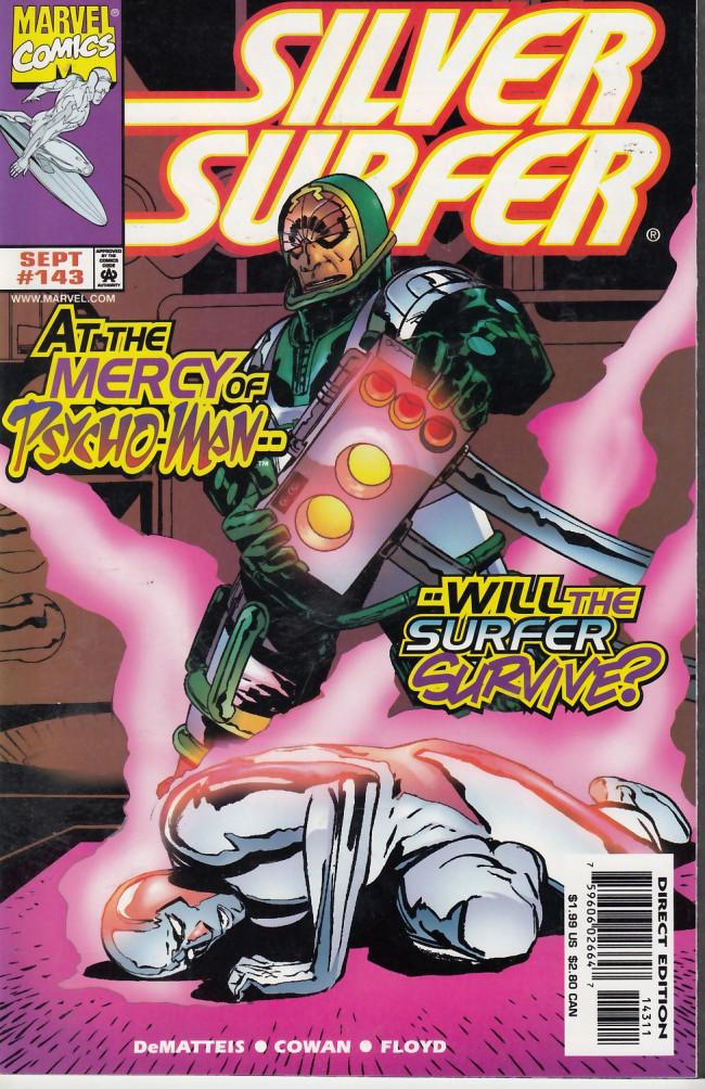 Couverture de Silver Surfer Vol.3 (Marvel comics - 1987) -143- The Forsaken