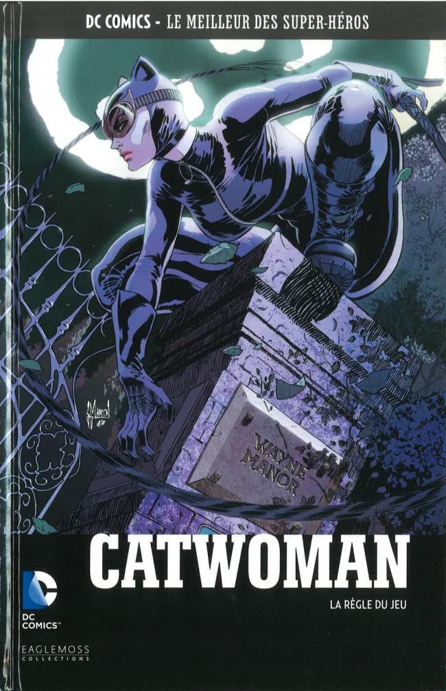 Couverture de DC Comics - Le Meilleur des Super-Héros -75- Catwoman - La Règle du Jeu