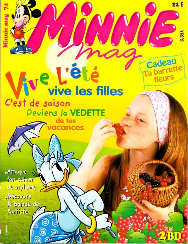 Couverture de Minnie mag -74- Numéro 74