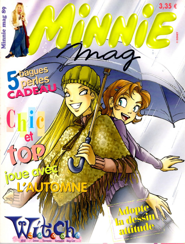 Couverture de Minnie mag -89- Numéro 89