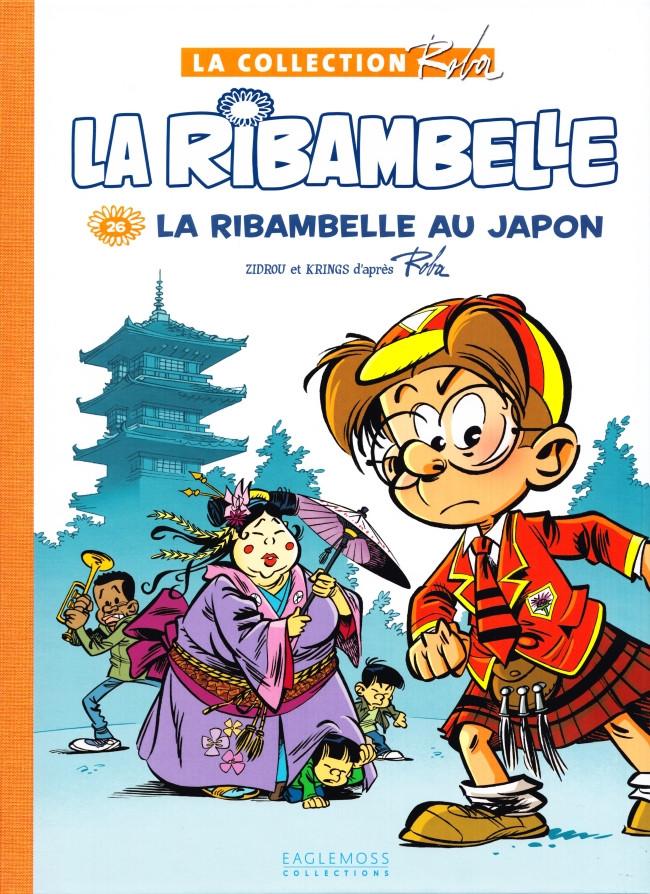 Couverture de Boule et Bill -15- (Collection Eaglemoss) -2643- La Ribambelle au Japon