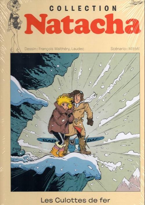 Couverture de Natacha - La Collection (Hachette) -12- Les culottes de fer