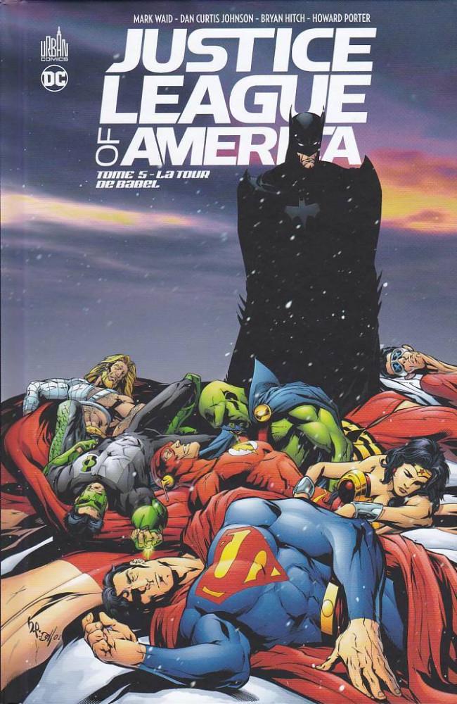 Couverture de Justice League of America (DC Classiques) -5- La tour de Babel