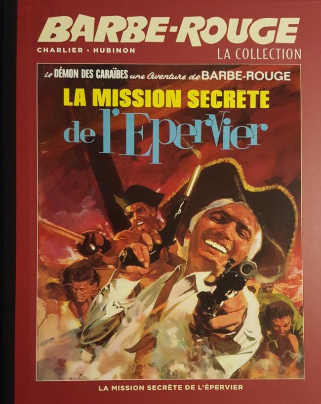 Couverture de Barbe-Rouge (Eaglemoss) -12- La Mission Secrète de l'Epervier
