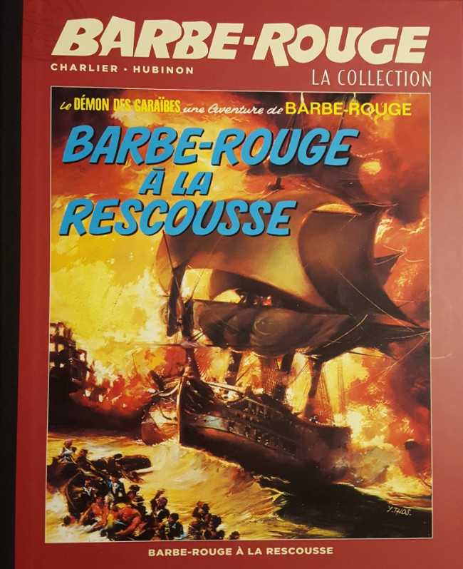Couverture de Barbe-Rouge (Eaglemoss) -13- Barbe-Rouge à la Rescousse