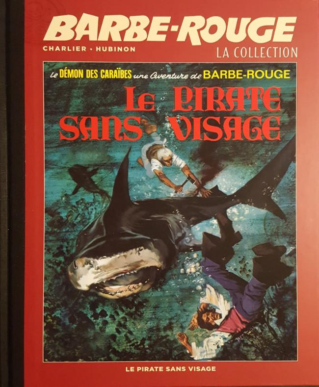 Couverture de Barbe-Rouge (Eaglemoss) -14- Le Pirate sans Visage
