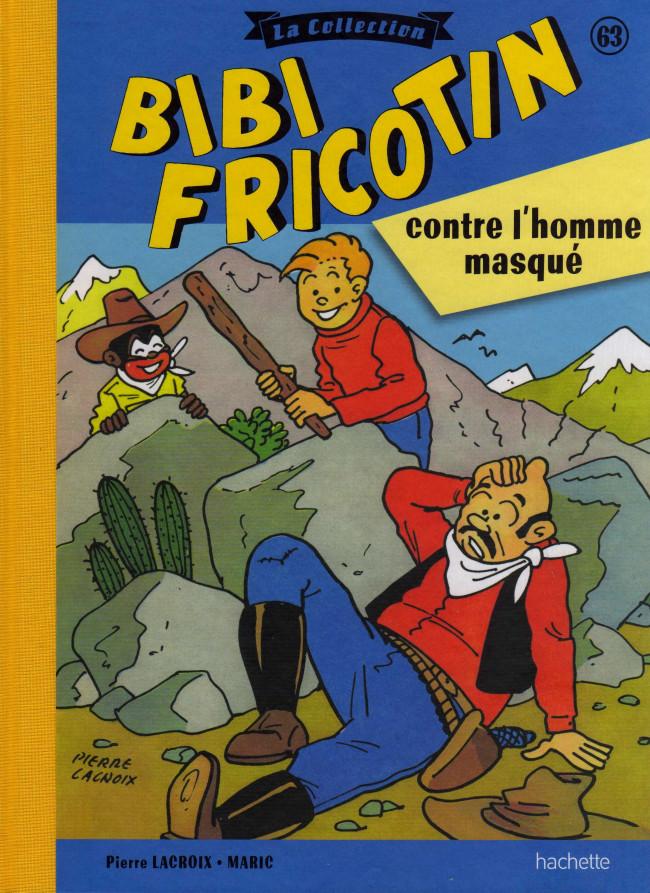 Couverture de Bibi Fricotin (Hachette - la collection) -63- Bibi Fricotin contre l'homme masqué