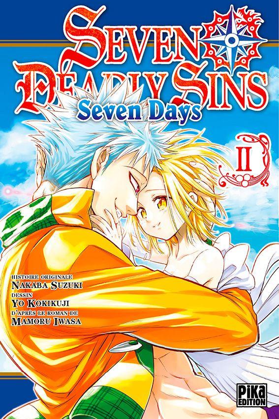 Couverture de Seven Deadly Sins - Seven Days -2- Tome 2