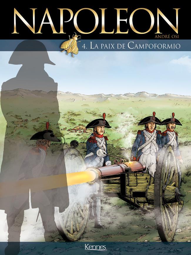 Couverture de Napoléon (Osi) -4- La paix de Campoformio