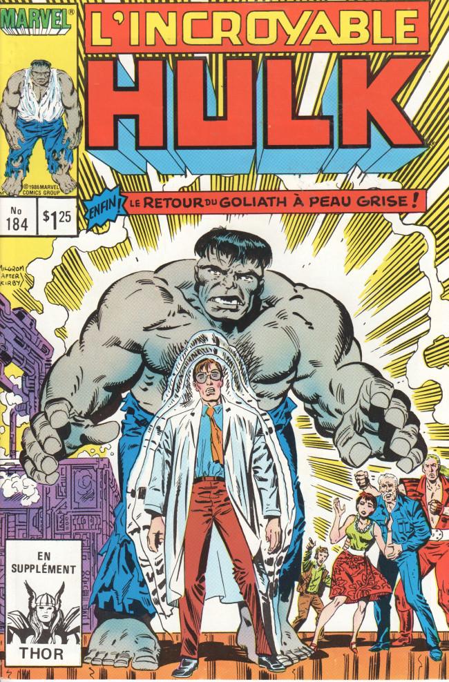Couverture de L'incroyable Hulk (Éditions Héritage) -184- Plus ça change...
