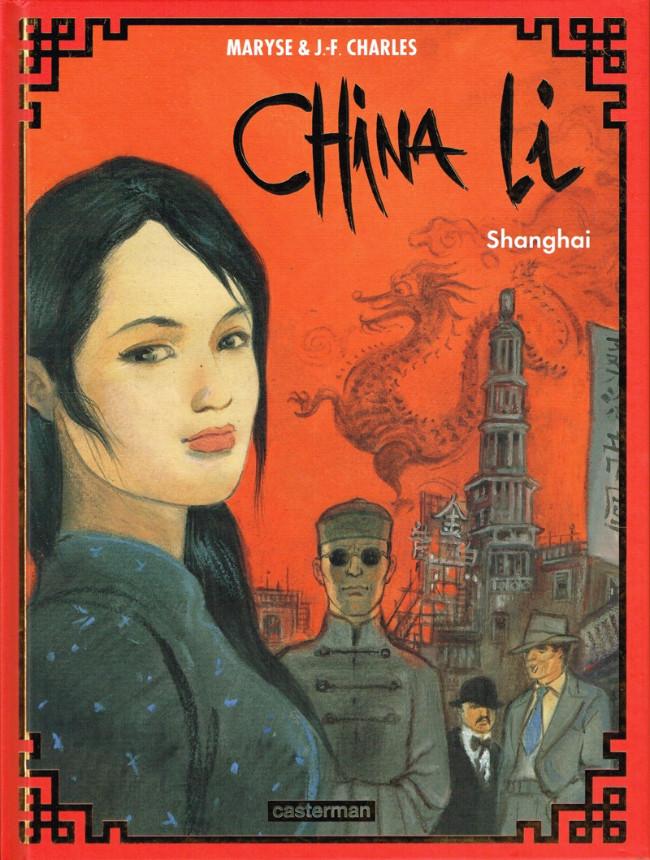 Couverture de China Li -1- Shanghai