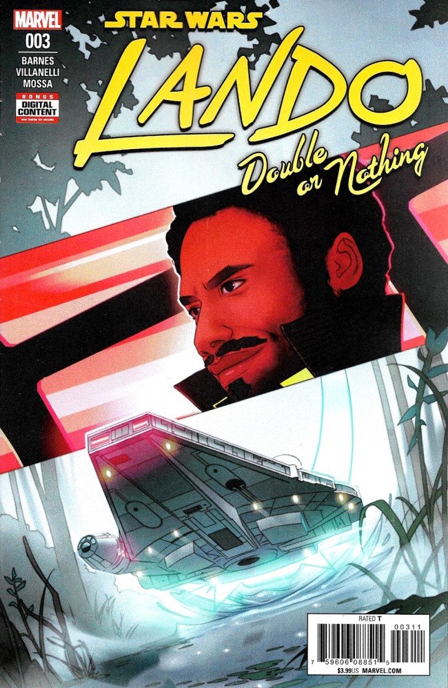 Couverture de Lando - Double Or Nothing (2018) -3- Lando Double Or Nothing Part III