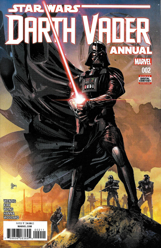 Couverture de Darth Vader (2017) -AN02- Technological Terror