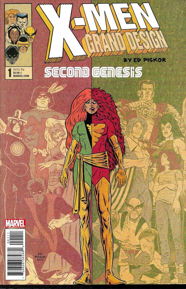 Couverture de X-Men: Grand Design - Second Genesis (2018) -1- X-Men: Grand Design - Second Genesis