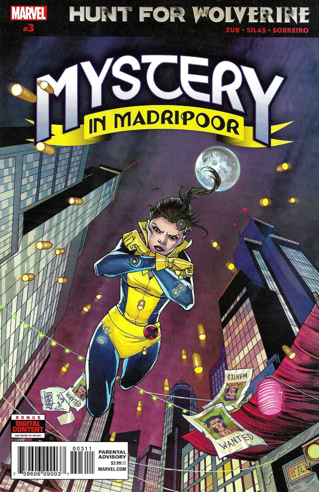 Couverture de Hunt for Wolverine: Mystery in Madripoor (2018) -3- Issue #3