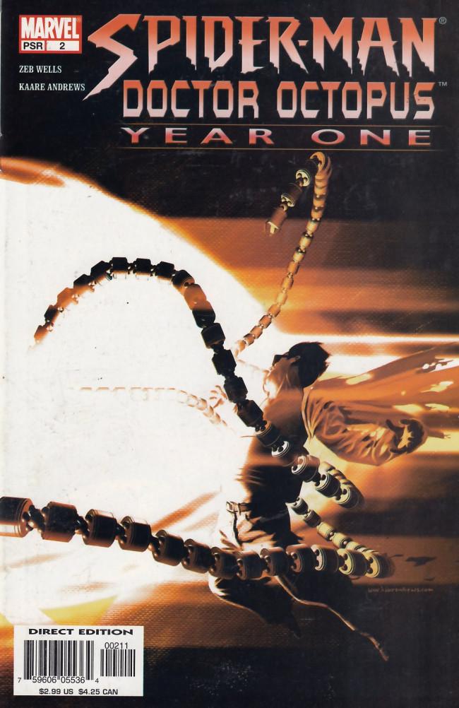 Couverture de Spider-Man/ Doctor Octopus: Year One (2004) -2- Spider-Man/ Doctor Octopus: Year One #2