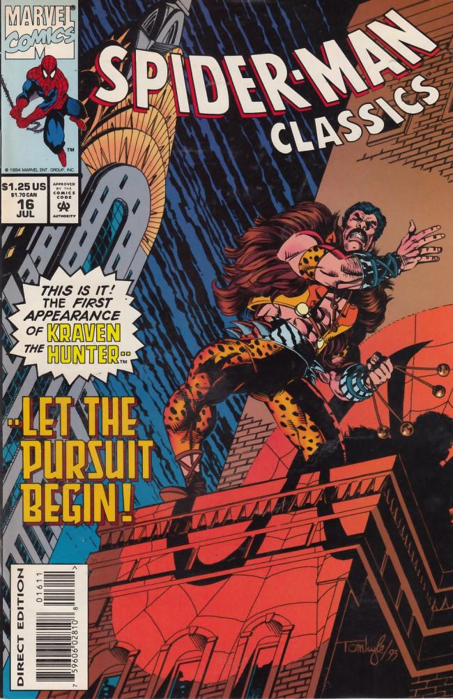 Couverture de Spider-Man Classics (1993) -16- Kraven the Hunter