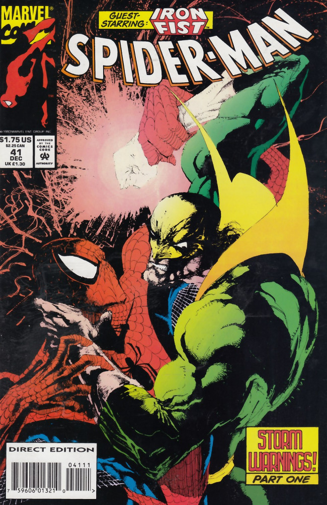 Couverture de Spider-Man (1990) -41- Storm Warnings, Part One