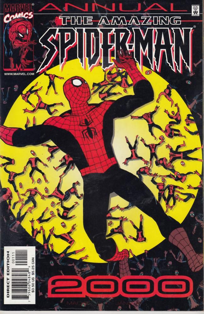 Couverture de Amazing Spider-Man (The) Vol.2 (Marvel comics - 1999) -AN2000- Amazing Spider-Man annual 2000