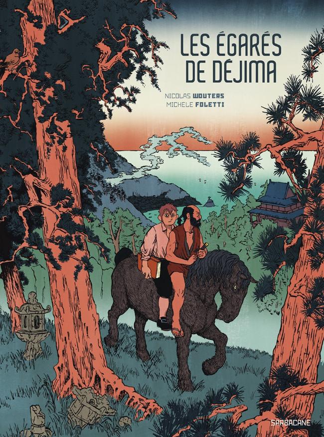 Couverture de Les Égarés de Déjima - Les égarés de Déjima