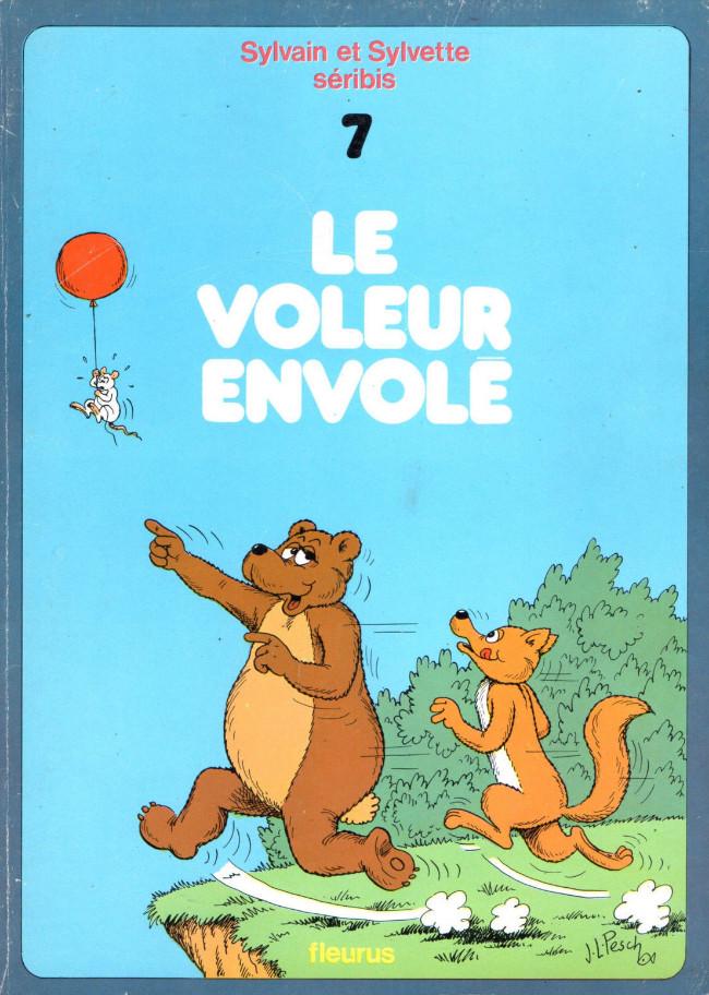 Couverture de Sylvain et Sylvette -7- Le voleur envolé