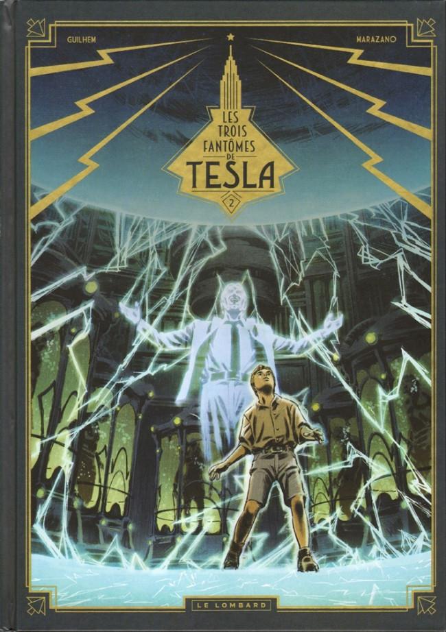 Couverture de Les trois Fantômes de Tesla -2- La conjuration des humains véritables