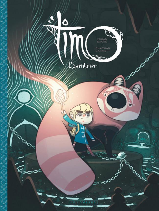 Couverture de Timo, L'aventurier -1- Tome 1