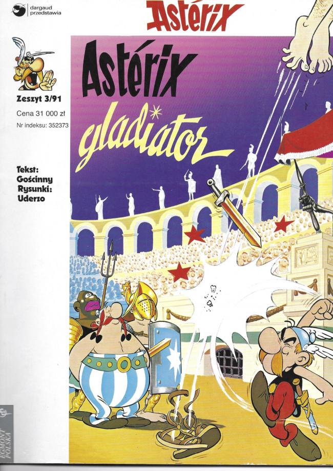 Couverture de Astérix (en langues étrangères) -3Polonais- Astérix gladiator