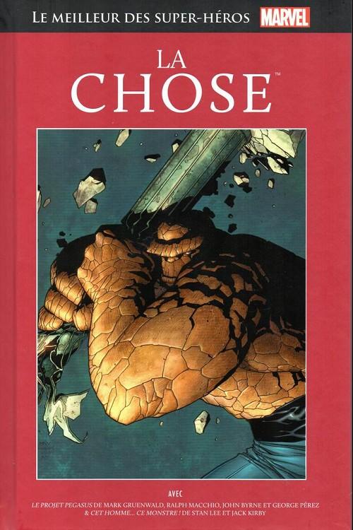 Couverture de Marvel Comics : Le meilleur des Super-Héros - La collection (Hachette) -66- La chose