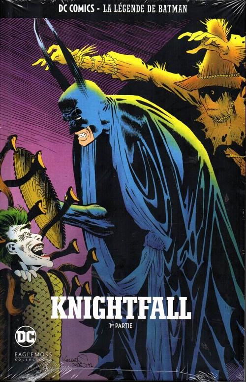 Couverture de DC Comics - La légende de Batman -2420- Knightfall - 1ère partie