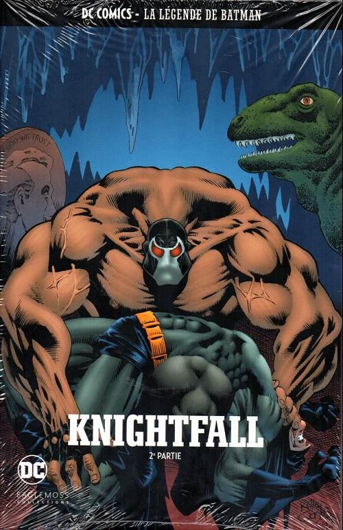 Couverture de DC Comics - La légende de Batman -2521- Knightfall - 2e partie
