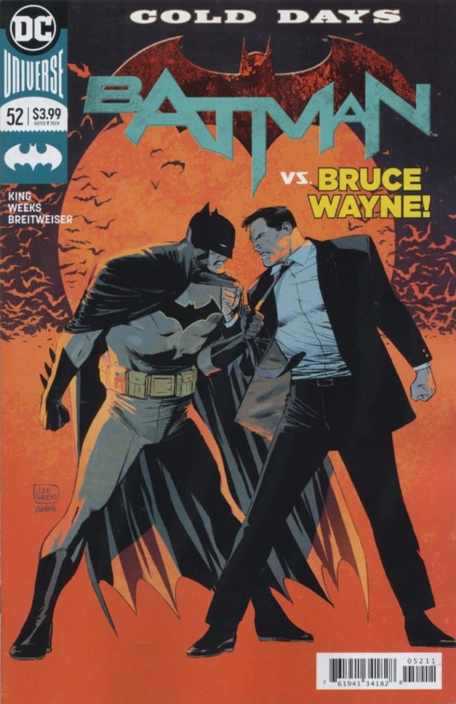 Couverture de Batman (DC Comics - 2016) -52- Cold Days, Part Two