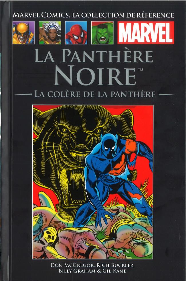 Couverture de Marvel Comics - La collection (Hachette) -116XXVI- LA Panthères Noire - La Colère de la Panthère