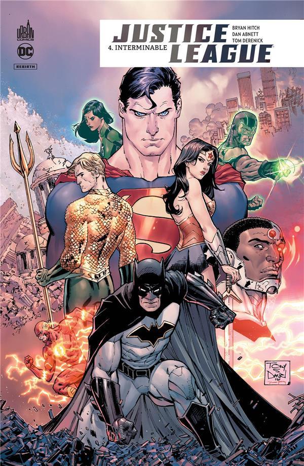 Couverture de Justice League Rebirth -4- Interminable
