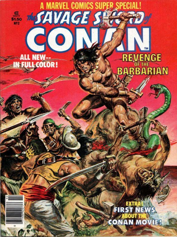 Couverture de Marvel Comics Super Special Vol 1 (1977) -2- Revenge of the Barbarian