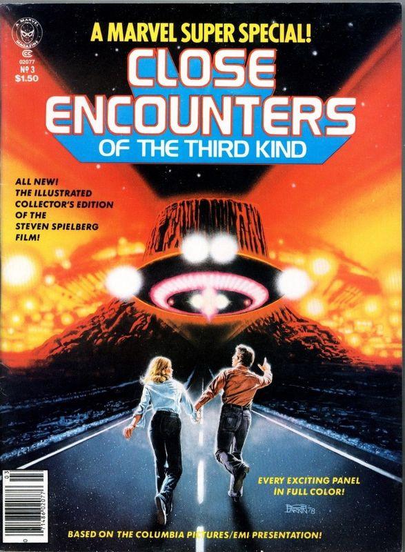 Couverture de Marvel Comics Super Special Vol 1 (1977) -3- Close Encounters of the Third Kind