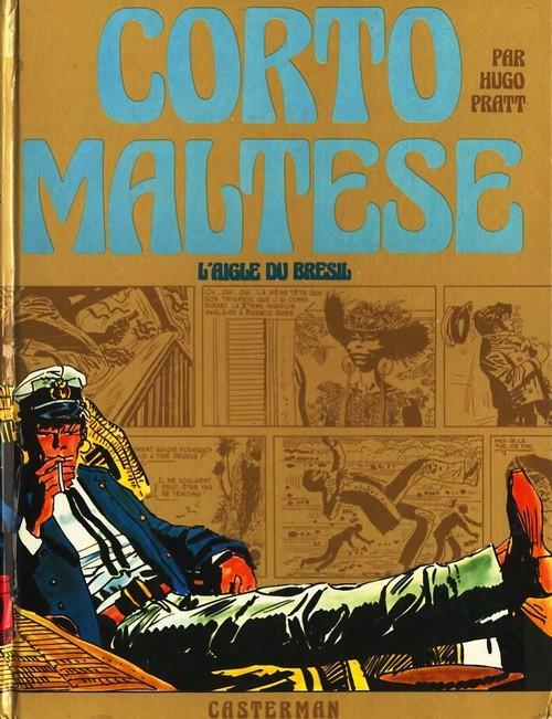 Couverture de Corto Maltese (première série cartonnée) -2- L'aigle du Brésil