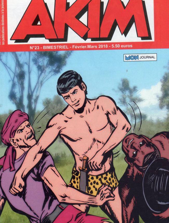 Couverture de Akim (3e série) -23- Les hommes de sel - La lance sacrée de Thor