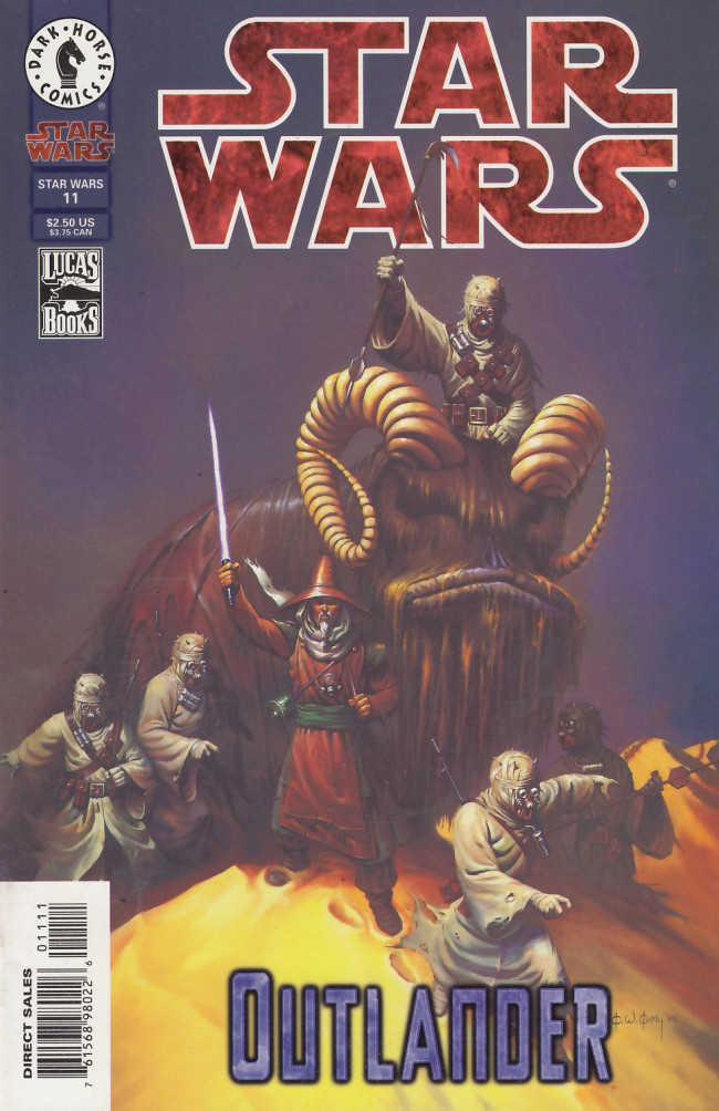 Couverture de Star Wars (1998) -11- Outlander, Part 5 of 6: The Exile of Sharad Hett
