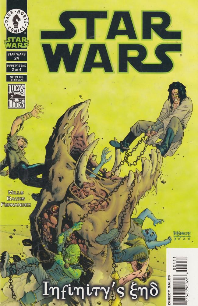 Couverture de Star Wars (1998) -24- Infinity's End, Part 2 of 4